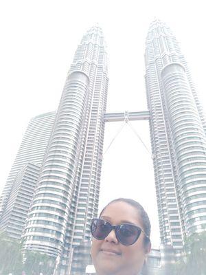 Petronas Towers #SelfieWithAView #TripotoCommunity