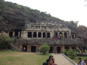Undavalli Caves 1/undefined by Tripoto
