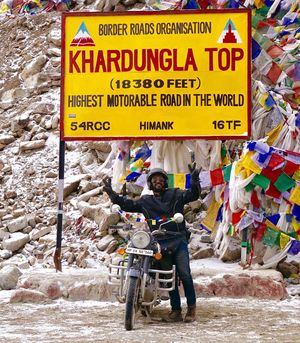 Chasing the dreams in the land of Monks- Ladakh ( A Road of 11 Dangerous passes)