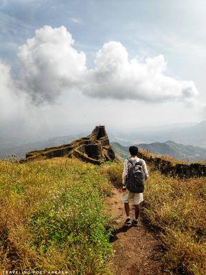 Torna Fort : Largest fort in Maharashtra