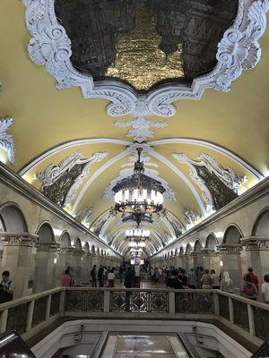 Komsomolskaya station 1/undefined by Tripoto
