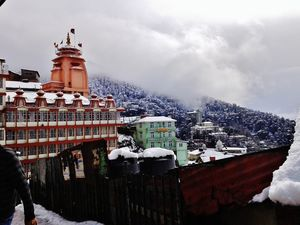 When it snowed in Shimla