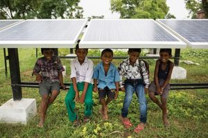 A Visit to Dharnai: India's First Solar Powered Village