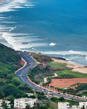 Best Hill Drives in India with the View of a Beach