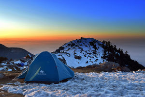 Winter Hike to Triund Top & Snow Lines