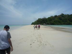 Sand Bar of Ross & Smith Islands