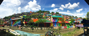 This Rainbow Village In Indonesia Is Here To Improve The Aesthetics Of Your Instagram Feed