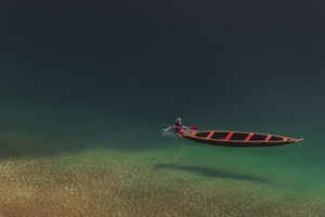 The Flying Boat!!!   The cleanest river of Incredible India in Meghalaya.#BestTravelPictures