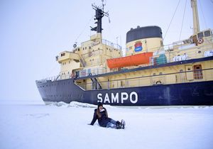 Europe Has A Frozen Sea. And Turns Out, You Can Float And CruiseThrough It
