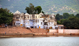 The pious yet colorful Pushkar