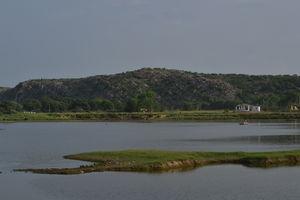 The serene and quaint Damdama lake
