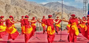 The enchanting Naropa Festival in Ladakh ends with a Guinness World Record and many Performances