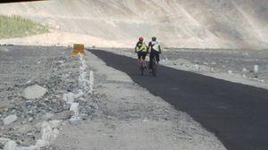 The Road Less Traveled! @Nubra Valley Ladakh.