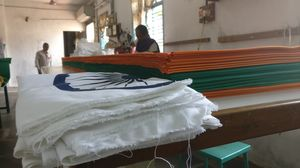 Bengeri , Hubli: India's Only Authorized National Flag Manufacturing Unit!