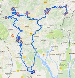 Making of a Road Trip - Meghalaya & Sikkim