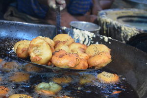 The  street foods from the sweetest part of India #streetfoodpics #IWillGoAnywhereForFood