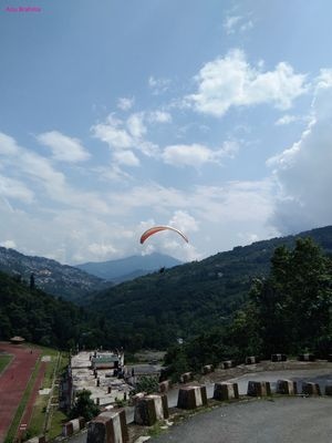 Soar high in the air and break free like a bird-Paragliding in Gangtok Sikkim