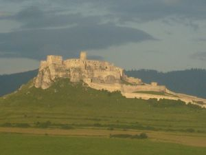 Counting Castles and Churches in Slovakia