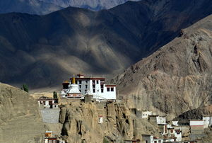 The Surreal landscape of Lamayuru – A Village Near Ladakh
