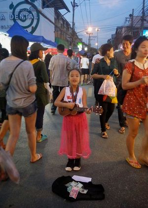 The Night Market ถนน ช้างคลาน Chiang Mai Thailand 1/undefined by Tripoto