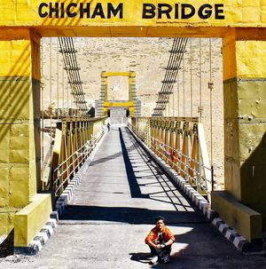 How it feels to walk at Asia's highest bridge: Chicham is really Khaaas .....Please Spot me ????