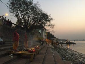 "My Experience of ""Ganga Aarti"" in the ghats of Kolkata"
