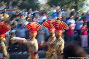 Beating the Retreat @Wagah Border,Amritsar