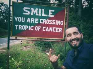 Smile as much as you want, when you still have the teeth ???????? #tripotocommunity #selfiewithaview