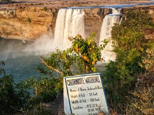 Chitrakoot falls...the Niagara falls of India