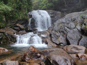Lakkam Falls Munnar
