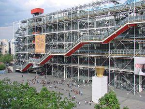 Pompidou Centre 1/2 by Tripoto