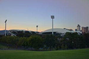 Surroundings of Adelaide Oval