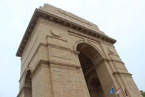 The India Gate!