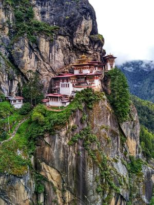 The Tiger's Nest!