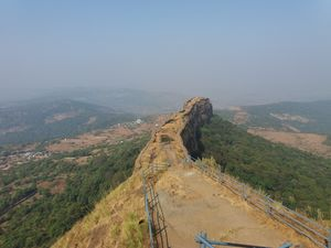 Lohagad fort - Scorpion's Edge