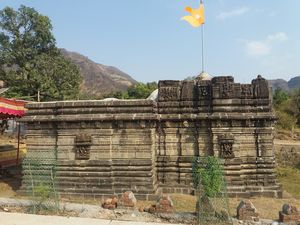 Chavand Fort and an Ancient Temple