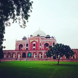 A walk through Humayun's tomb