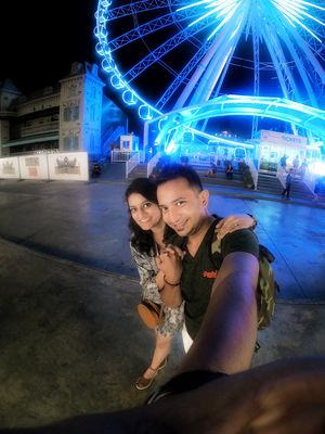 The dreamy Ferris wheel in Bangkok. #TripotoCommunity #SelfieWithAView