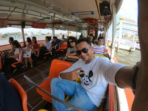 Going all the way down the river by public ferry.  #TripotoCommunity #SelfieWithAView