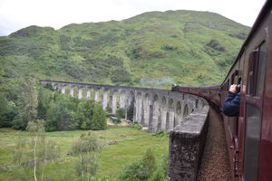 Scottish highlands and Hogwarts Express experience