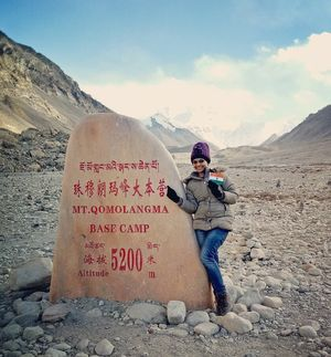 "Mt. Everest Base Camp-Tibet side: ""Roof of the World"""
