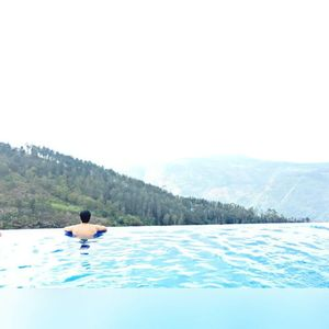 A pool to infinity in Yercaud