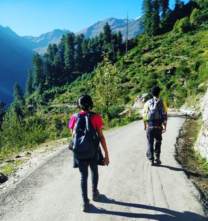 In pursuit of Kheerganga #besttravelpicture #tripotocommunity #kasol