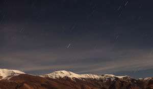 Starfall. Somewhere in Ladakh #BestTravelPictures #india @jetairways @tripotocommunity