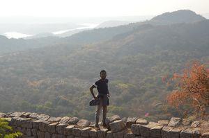 Savandurga Monolith - Millions of year in the making