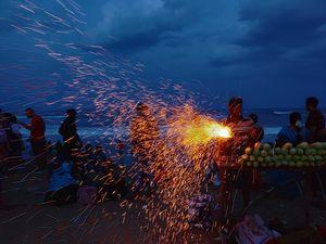 Fireworks which make corn tasty.