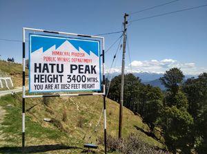Hatu Peak - Shimla, Himachal Pradesh
