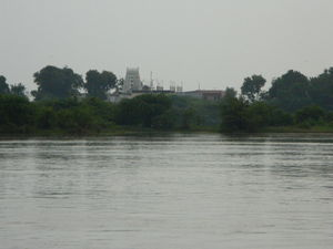 River Krishna beckons you to this island abode of Sri Guru!!!- Kuruvarpur