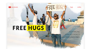 FREE HUGS IN INDIA - SPREADING SMILES