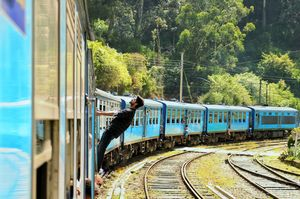 One of the Best train journey in the world #BestTravelPictures #tripoto #jetairways #srilanka
